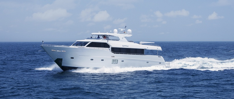 Gulf Craft launches the Gulf 95 Exp