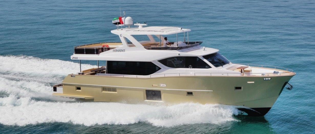 The superb Nomad 65 by Gulf Craft