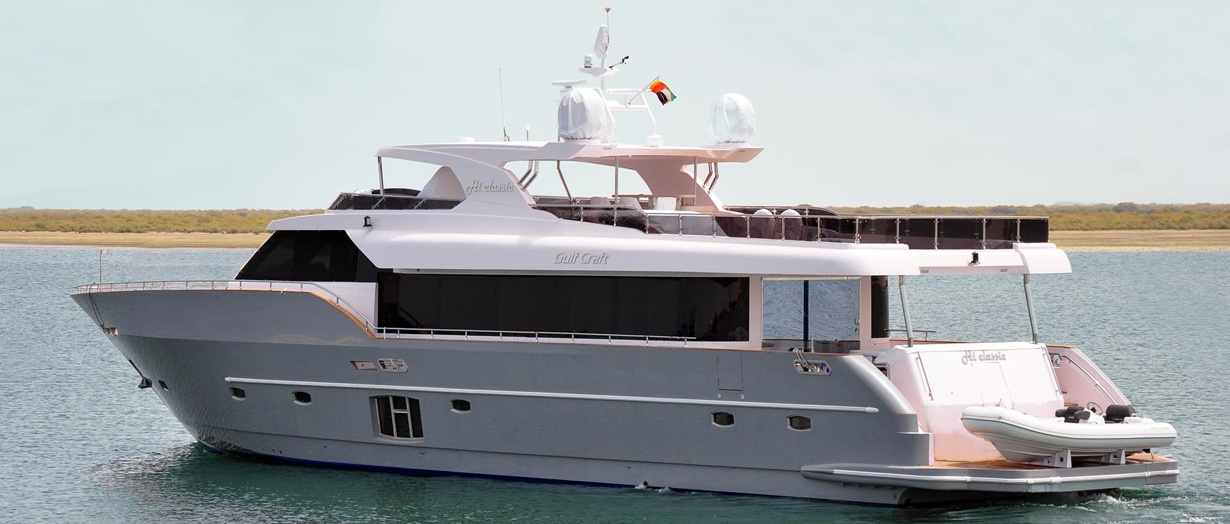 Nomad 95 by Gulf Craft, UAE