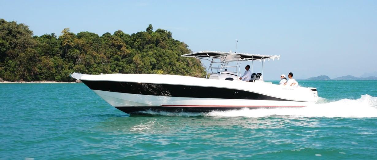 Silvercraft 36 CC by Gulf Craft, UAE