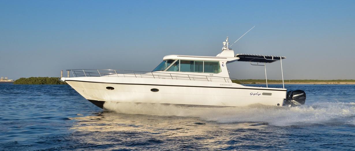 Silvercraft 40 by Gulf Craft, UAE